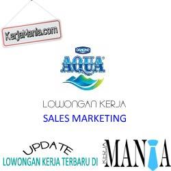 Lowongan Kerja Sales Marketing Danone Aqua