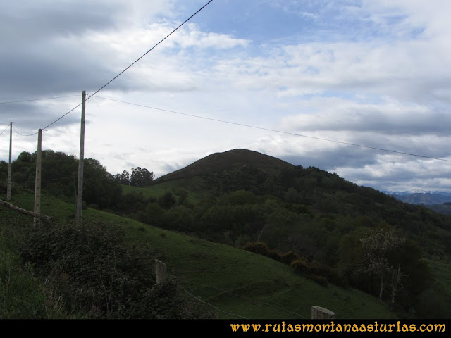 Ruta Torazo, Pico Incos: Pico Incós