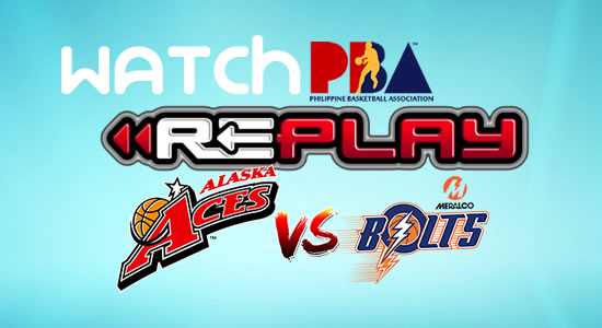 Video List: Alaska vs Meralco game replay January 10, 2018 PBA Philippine Cup