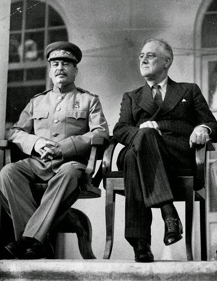 сближение Сталина и Рузвельта
