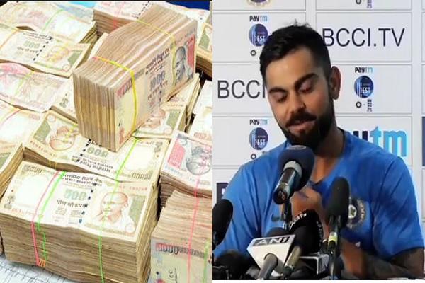 नोटबंदी पर क्रिकेटर विराट कोहली ने की सरकार की तारीफ़, बताया ऐतिहासिक कदम