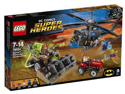 TOYS : JUGUETES - LEGO Dc Super Heroes  76054 Batman : El Espantapajaros - Cosecha del miedo  Scarecrow : Harvest of Fear  Producto Oficial 2016 | Piezas: 563 | Edad: 7-14 años  Comprar en Amazon España & buy Amazon USA