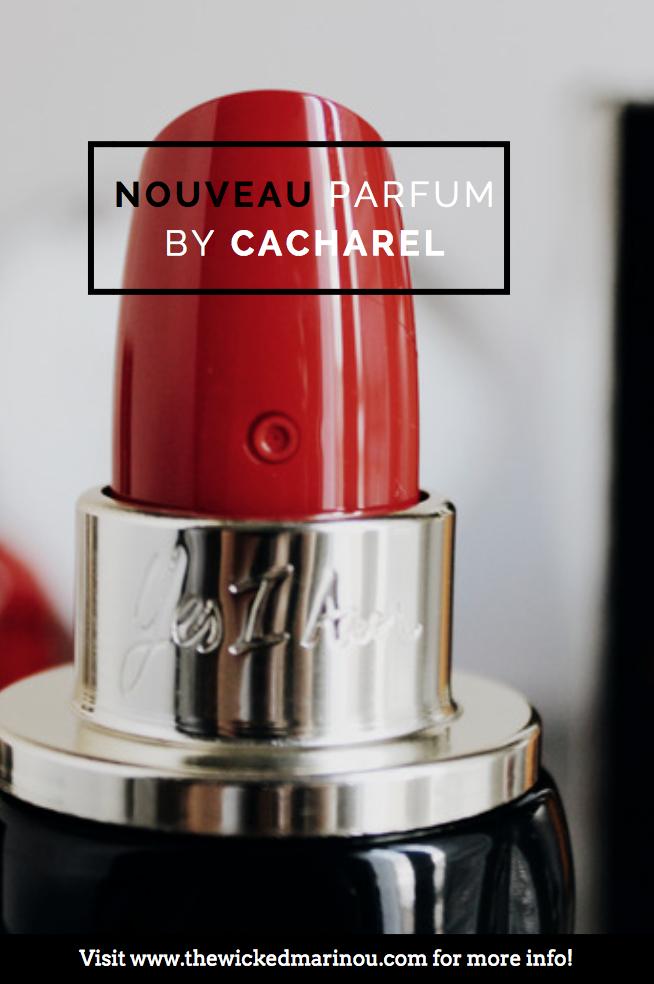 Yes I Am Le Nouveau Parfum By Cacharel The Wicked Marinou Blog