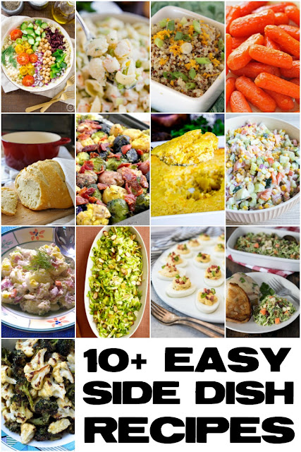 Looking for new side dish inspiration? Then you are going to love these 10+ Easy Side Dish Recipes!