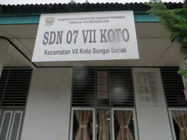 SDN 07 VII Koto Butuh Penambahan Tenaga Guru Rosdiana : Untuk Pacu Prestasi Sekolah