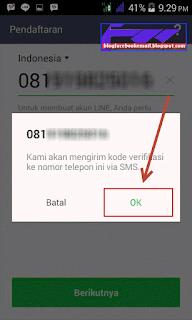 cara membuat line android
