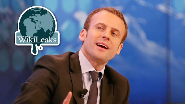 ويكيليكس تقوم بتسريب حوالي 000 21 رسالة إلكترونية من حملة الرئيس الفرنسي إيمانويل ماكرون