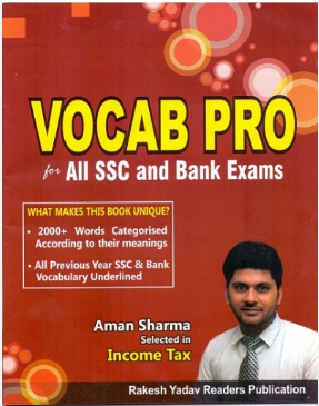 Book-PDF: Vocab Pro For SSC by Rakesh Yadav Publications - SSC Officer