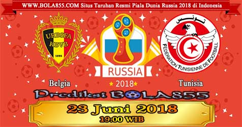 Prediksi Bola855 Belgium vs Tunisia 23 Juni 2018