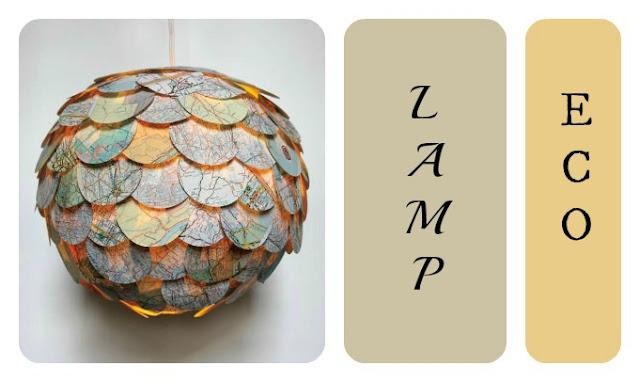 lampa z papieru