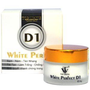 White perfect trị nám hiệu quả tại nhà