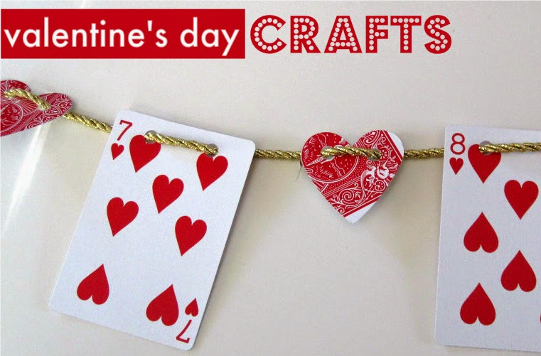 how to recycle easy valentine's day crafts