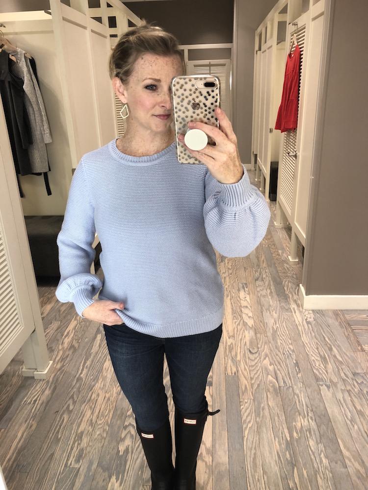 blouson-sweater