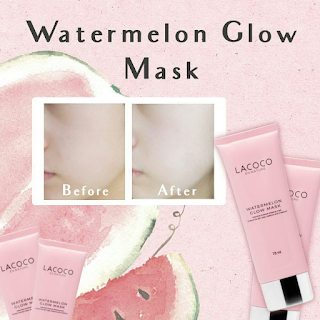 Testimoni Lacoco Watermelon Glow Mask Nasa