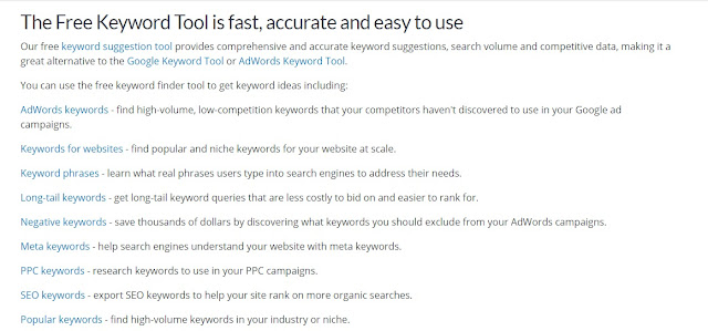 Wordstream  Keyword Planner