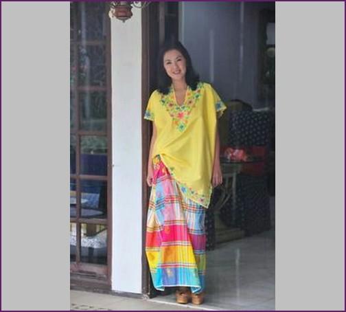 Baju Bodo Modern Hijab, Model Design Foto dan Gambar Untuk Pesta Makassar Sulawesi Selatan