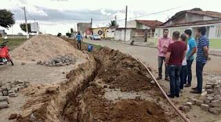 Obras da Casal em conjunto com a prefeitura municipal de major Isidoro.