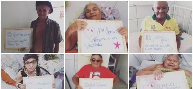 Idosos de Patos pedem seus presentes na campanha 'Natal do Idoso'