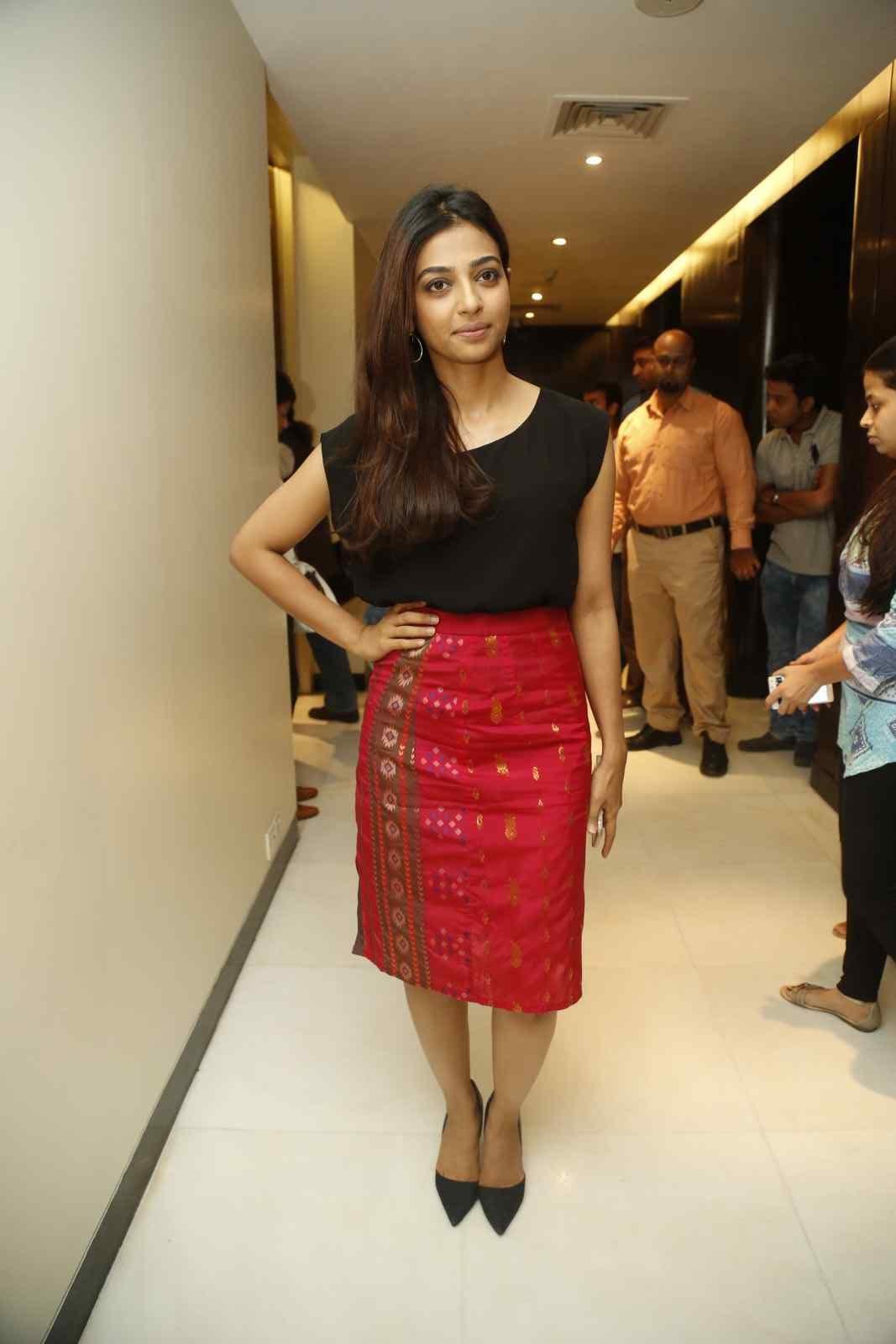 Radhika Apte Unseen So Hot Photos In Black Dress