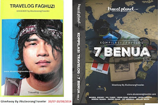 Travelog Faghuzi/Kompilasi Travelog 7 Benua GIVEAWAY By Aku Seorang Traveler