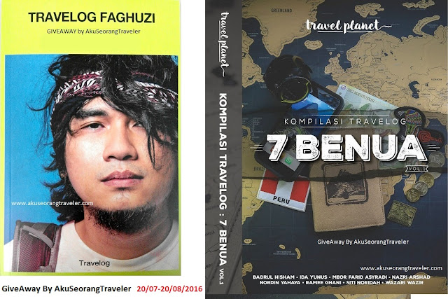 """Travelog Faghuzi/Kompilasi Travelog 7 Benua GIVEAWAY By Aku Seorang Traveler"""