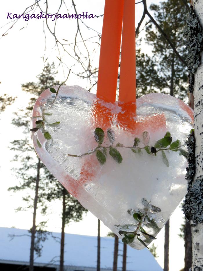 jääkoriste puutarhaan