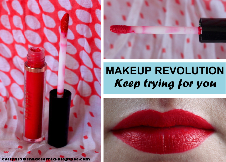 Makeup Revolution London - Salvation Velvet Lip Laquer - Keep trying for you