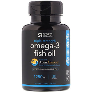 Sports Research - Omega-3 Fish Oil