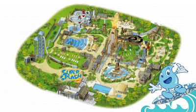 Mappa Caneva Aquapark 2017