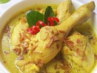Resep Opor Ayam Kampung Yang Sangat Lezat