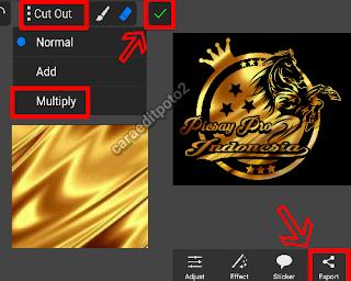 Cara Membuat Logo Emas