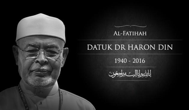 Padah Ahli Perniagaan Hina Kematian Datuk Dr. Haron Din