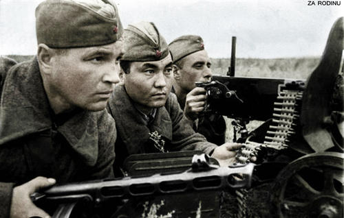 WW2 Russian soldiers Battle for Stalingrad
