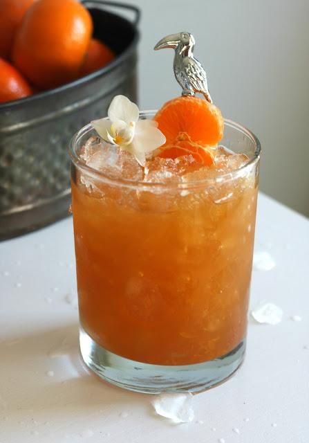 Clementine Rum Cobbler
