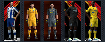 FC Porto kits 16-17