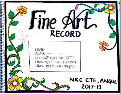 fine art record sample