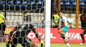 المصري يفرض التعادل الاجابي على الانتاج الحربي بهدف لمثله في الدوري المصري