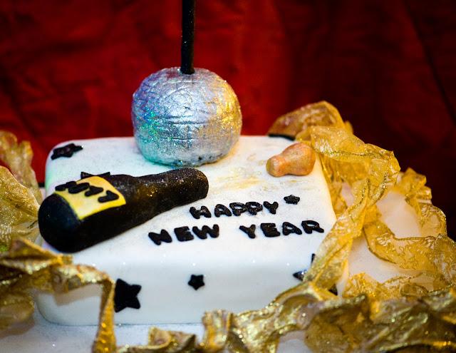 New year cake 2017