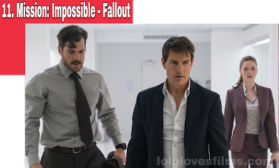 Mission: Impossible - Fallout Tom Cruise Henry Cavill Rebecca Ferguson