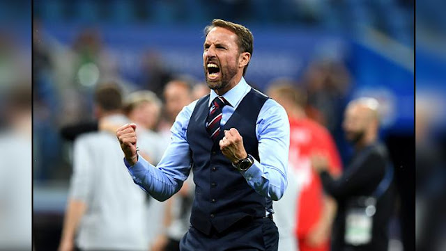 Gareth Southgate, pelatih Timnas Inggris berhasil membawa Timnya maju ke perempat Final Piala Dunia 2018