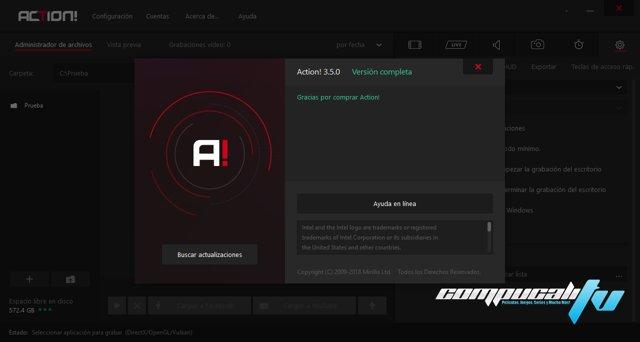 Mirillis Action 3.5.0 Español Full Final Grabar Juegos en HD