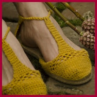 Sandalias de crochet