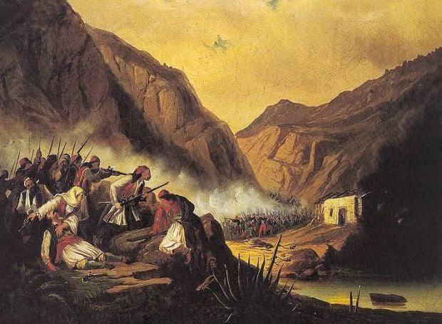 Η Καταστροφή του Δράμαλη στην Κλεισούρα του Αγιονορίου
