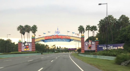 Four Go To Florida #1 Getting There - Walt Disney World Entrance