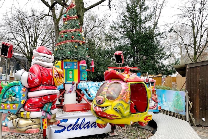 Fahrgeschäfte Weihnachtsmarkt Volksgarten