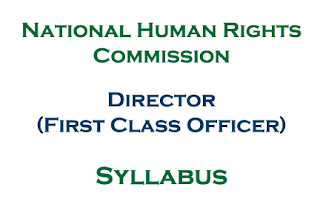NHRC Syllabus: Director (First Class Officer) of National Human Rights Commission Nepal