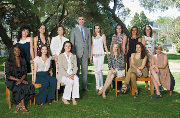The weekly 'Tiempo' proposed to the Princess of Asturias celebrate his fortieth birthday in a very special gathering at La Zarzuela