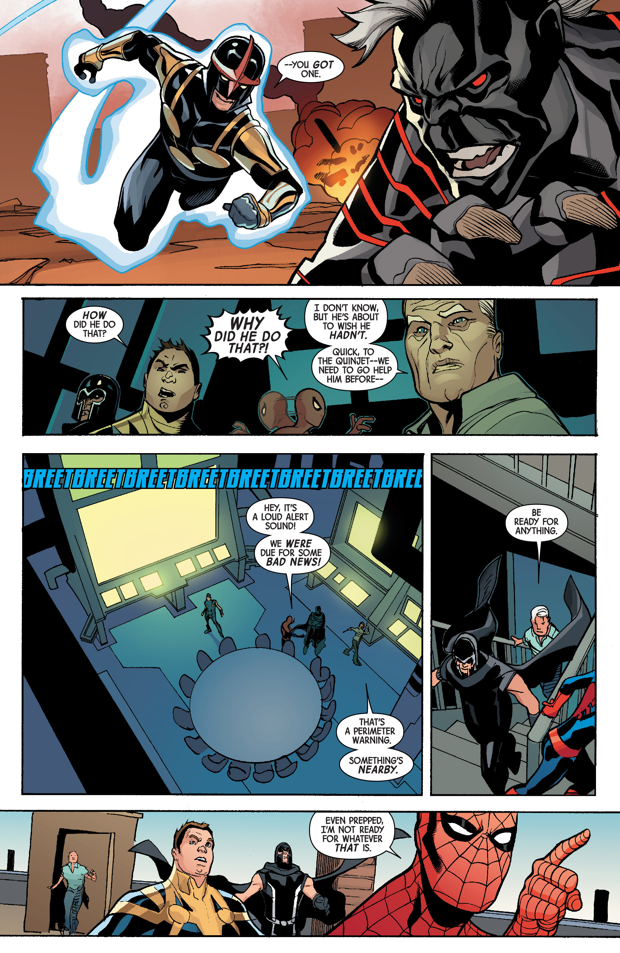 Read online Avengers & X-Men: AXIS comic -  Issue #5 - 16