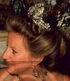 Hanover Floral Tiara Princess Victoria Louise Chantal