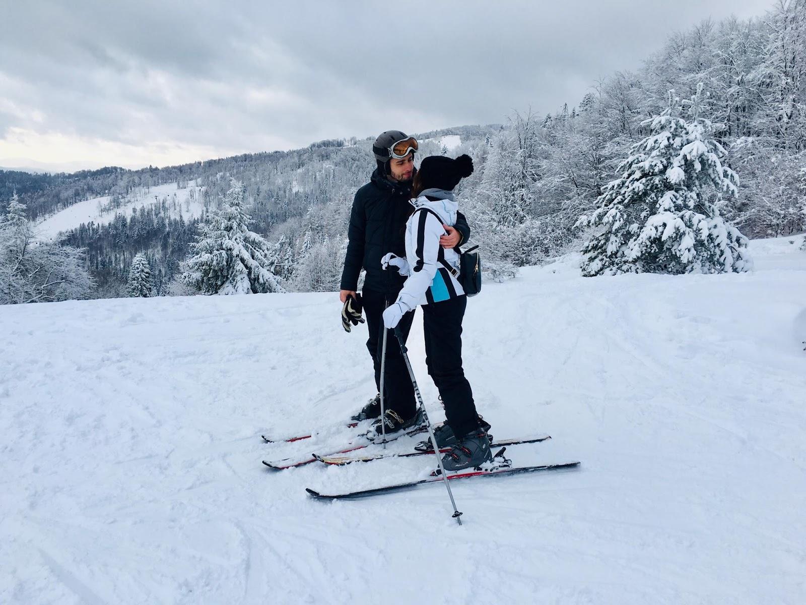 Krynica Zdrój / Mój pierwszy raz na nartach